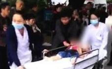 Una mujer hiere con un cuchillo a 14 niños en una guardería de China