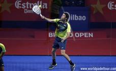 Javi Ruiz firma la hombrada en el Bilbao Open