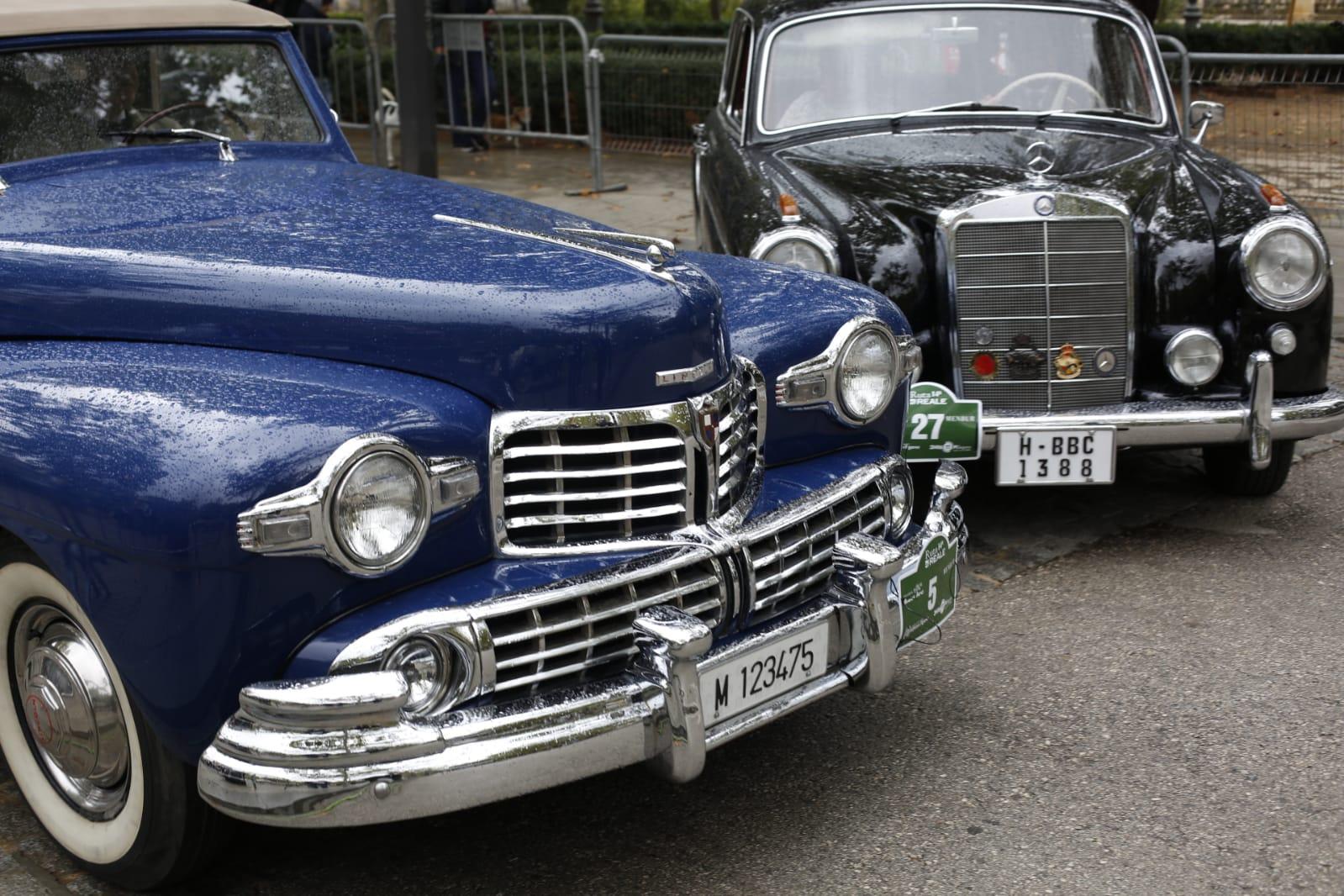 La belleza de los coches antiguos que se pueden ver en Granada este fin de semana