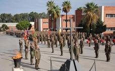 Cincuenta jóvenes almerienses logran el ingreso en el Centro de Formación de Tropa