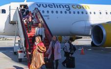 Un 15% más de asientos en el aeropuerto de Granada para la temporada de invierno