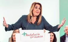 Susana Díaz denuncia la «epidemia supremacista» que «insulta y riñe» a andaluces porque no les votan