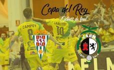 Córdoba-Jaén Paraíso Interior, en los octavos de final de la Copa del Rey