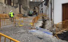 Obras en el casco histórico de Baeza para evitar cortes de luz