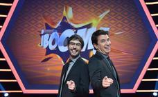 '¡Boom!', '¡Ahora caigo!' y 'La ruleta de la fortuna' intercambian a sus presentadores