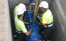 Más de 27.000 vecinos de Cúllar Vega y Las Gabias ya disponen de agua de Canales y Quéntar