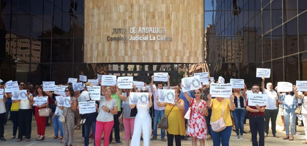 El TSJA inspecciona un juzgado de lo Social por un conflicto entre jueza y plantilla