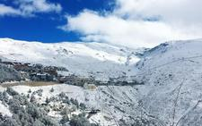 Sierra Nevada, en modo invierno a las puertas de noviembre