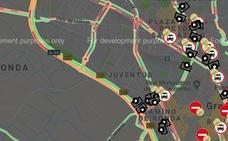 Hasta 8 kilómetros de retenciones en la Circunvalación por la operación salida de Todos los Santos