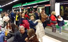 Octubre se convierte en el mejor mes del metro de Granada al superarse el millón de viajeros