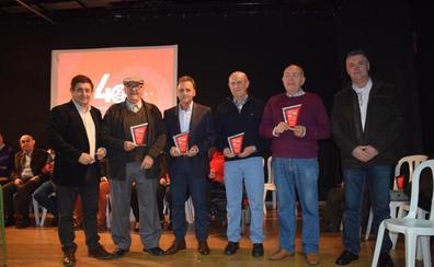 El PSOE de Albanchez homenajea a sus alcaldes y concejales