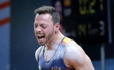 Josué Brachi repite bronce mundial en arrancada