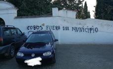 Aparecen pintadas intimidatorias en las tapias de los cinco cementerios de Íllora
