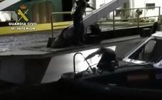 Rescatan a dos polizones, en situación de «riesgo extremo», ocultos en el buque que une Melilla y Motril