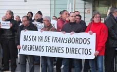 La Mesa del Tren convoca una protesta contra el corte de vía de Almería a Huércal