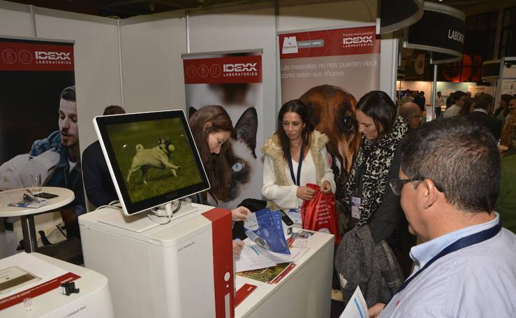 Primera jornada del Congreso Andaluz de Veterinarios en Granada