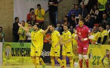 El Levante le tiende una mano al Jaén FS y Carlitos se la corta