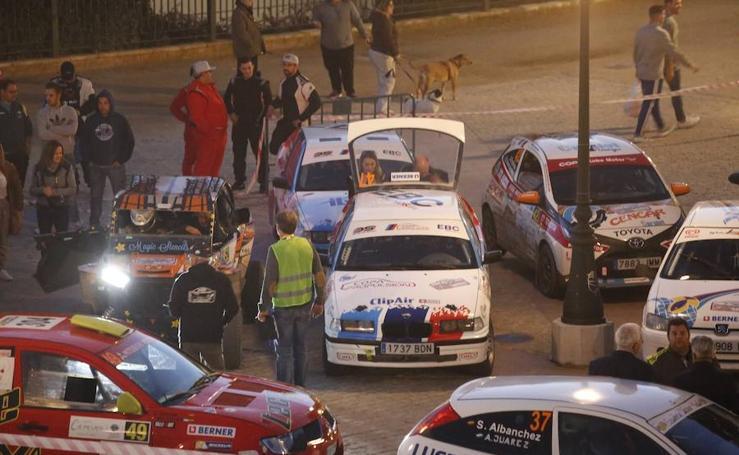 Las espectaculares imágenes del Rally de Granada