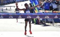 El etíope Lelisa Desisa gana la maratón masculina de Nueva York