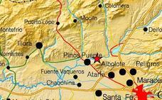 Sentido en Pinos Puente un terremoto de dos grados sin consecuencias
