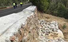 La Diputación de Almería finaliza las obras de estabilización del Cerro de Las Lomas de Zurgena