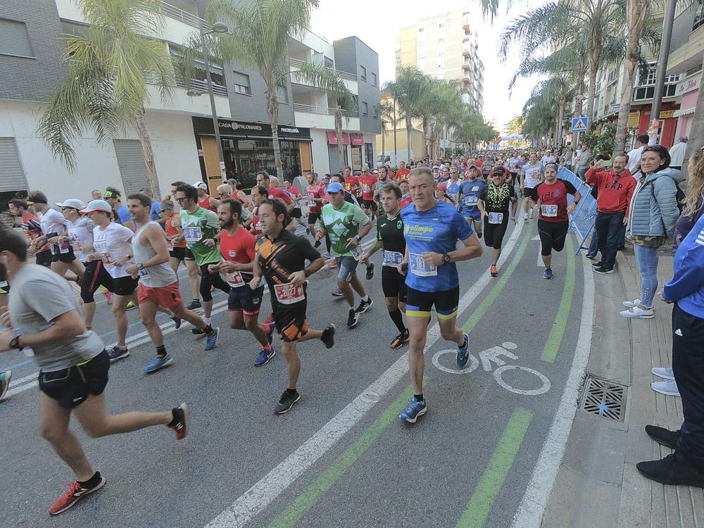 Media Maratón de Motril: Así fue la salida