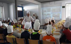 Pedro Salcedo y Euro-Toques llevan este año el 'Día del gusto y el producto' a Torredelcampo