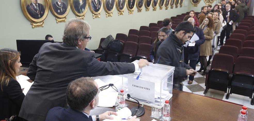 Concluye la votación en el Colegio de Abogados de Granada con una participación del 36,76%