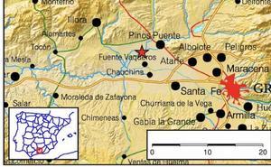 Un terremoto de 2,5 grados se siente en Fuente Vaqueros
