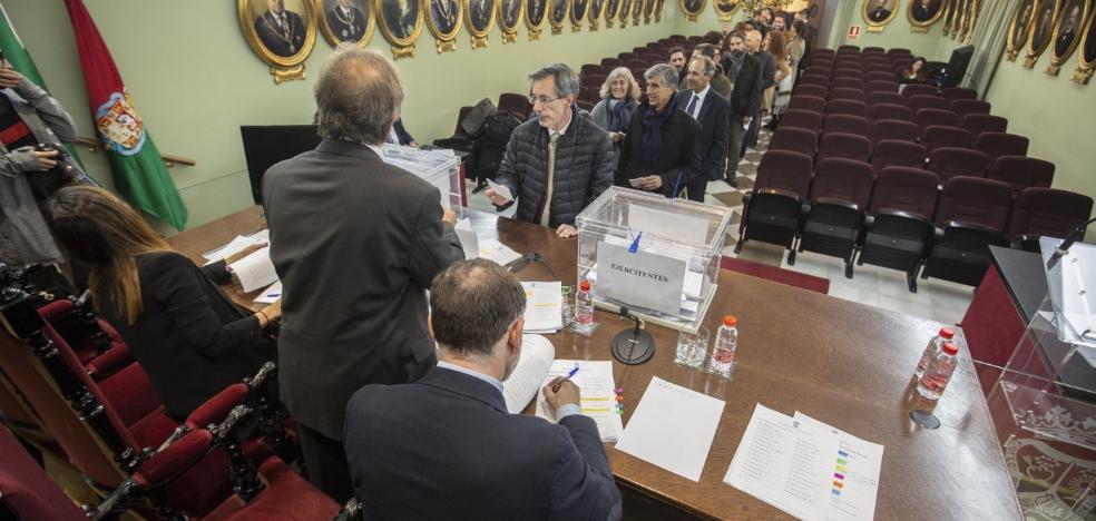 Leandro Cabrera, decano de los abogados