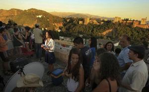 El atardecer de Granada, elegido el más bonito de España