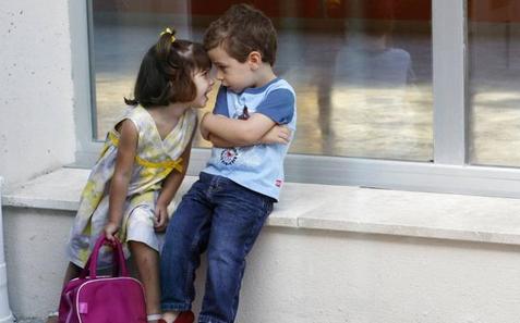 Niños con llave
