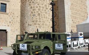 La Brigada de La Legión hace pruebas con el vehículo de vigilancia terrestre (VVT)