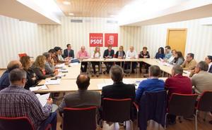 El PSOE destaca el apoyo «inigualable» que presta la Junta a todos los ayuntamientos