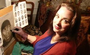 La retratista del crimen: gracias a sus dibujos se han detenido a 1.000 delincuentes
