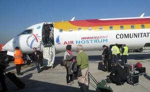 Huelga en los aviones de Air Nostrum para el 23, 26 y 30 de noviembre: la ruta Granada-Madrid, en peligro