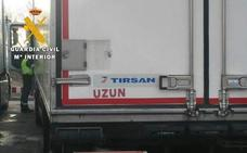 Cazan a un camionero que llevaba 31 horas al volante sin descansar