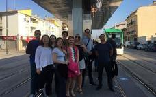 Técnicos europeos conocen la movilidad de Granada para plantear buenas prácticas