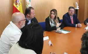 Susana Díaz sobre Cemex: «Por primera vez se abre el horizonte de una posible salida»