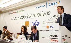 Casado alude en Jaén a «testimonios» que dicen que por Susana Díaz pasaba la «información» en la Junta en tiempos de corrupción