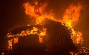 Miles de evacuados por un incendio en el norte de California