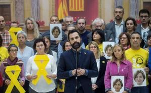 La tensión política incrementa la crispación en la Cámara catalana