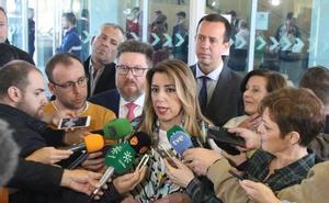 Susana Díaz insta al PP a abandonar una «política canalla» y de «odio»