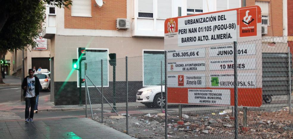 Urbanismo cita a los dueños de 106 fincas en el Barrio Alto para realizar las expropiaciones