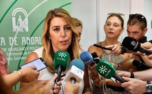 Susana Díaz asegura que se «trabaja» para que el AVE llegue a Almería «antes incluso del plazo de 2023»