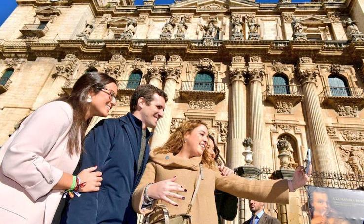 Pablo Casado y Juanma Moreno visitan Jaén