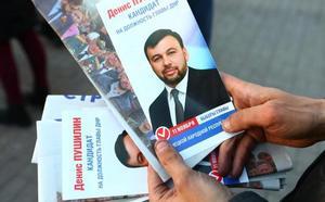 Polémicas elecciones en las regiones separatistas del este de Ucrania