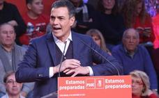 Sánchez se da un baño de autocomplacencia ante el PSOE