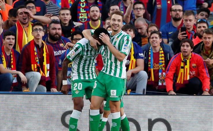 El Barcelona-Betis, en imágenes