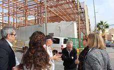 La Consejería de Salud reanuda las obras de la Casa del Mar